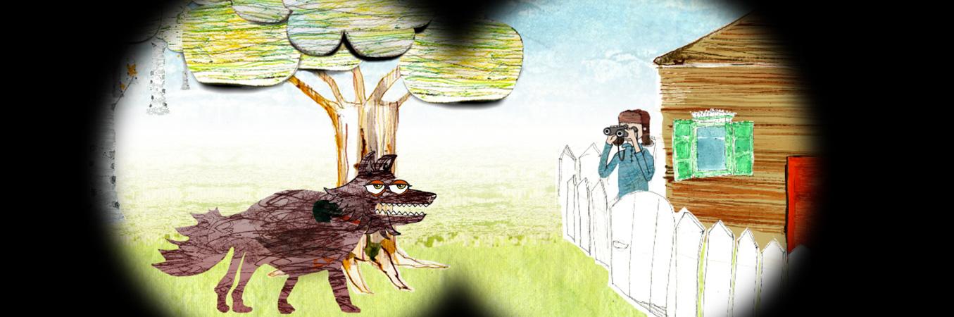 Educatieve app: Peter en de wolf