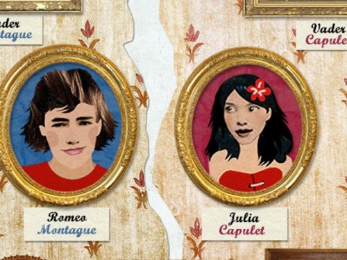 Educatieve app: Romeo en Julia