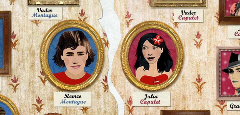 Educatieve app: Romeo en Julia