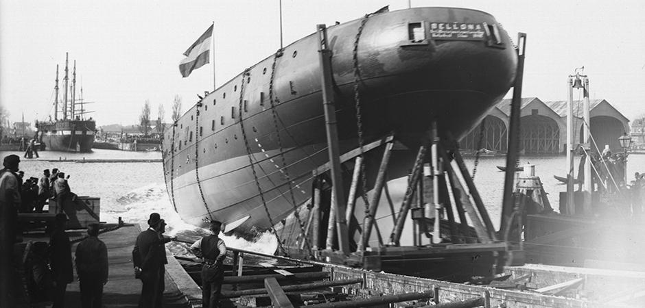 Ontdek de rijke geschiedenis van het Marineterrein